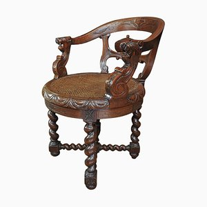 Antique Oak Armchair