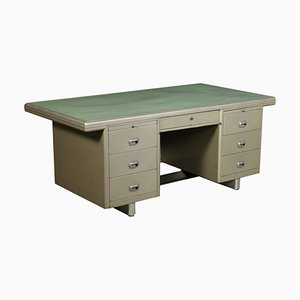 Schreibtisch aus Resopal & Metall, 1960er