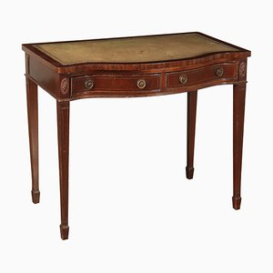 Antique Revival Mahogany Desk