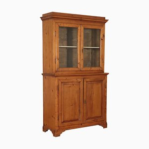19th Century Italian Fir Cupboard