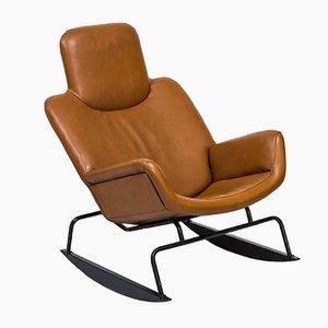 Sedia a dondolo Moderna di Yrjo Kukkapuro per Lepokalusto Oy, anni '60