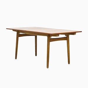 Tavolo da pranzo At-210 di Hans J. Wegner per Andreas Tuck, anni '60