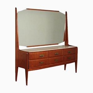 Kommode mit Spiegel, 1950er