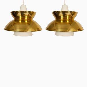 Lampes à Suspension Navy de Louis Poulsen, Danemark, années 50, Set de 2