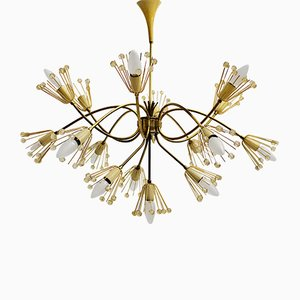 Mid-Century Snowflake Chandelier by Emil Stejnar for Rupert Nikoll