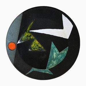 Wandlampe aus Keramik von Valentin Gilbert, 1950er