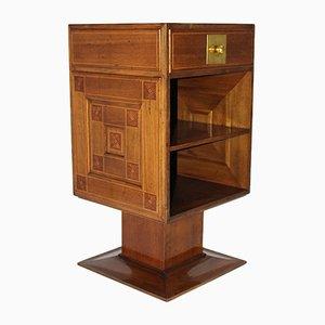 Antiker Nachttisch von Robert Oerley für Anton Pospischil