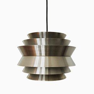 Lampe à Suspension en Aluminium par Carl Thore / Sigurd Lindkvist, années 60