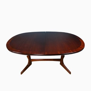 Mahogany Dining Table from William Lawrence of Nottingham, 1960s