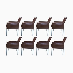 Texas Esszimmerstühle von Karl Friedrich Förster für KFF, 1990er, 8er Set