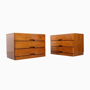 Drawer Cabinets, 1970s, Set of 2