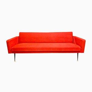 Vintage Teak 3-Seater Sofa, 1980s