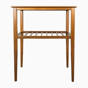 Coffee Table with Ladder Style Magazine Shelf, 1960s