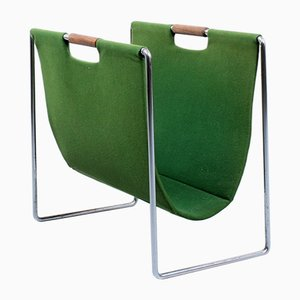 Green Magazine Rack from Brabantia, 1960s