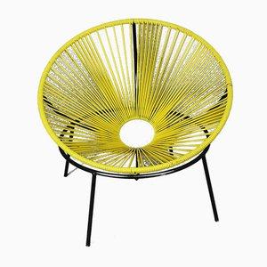 Beistellstuhl aus Eisen & Kunststoff von Lina Bo Bardi, 1952
