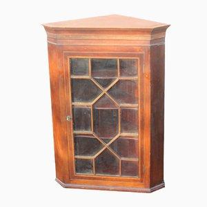 Antique Mahogany Corner Cabinet