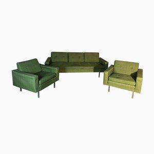 Mid-Century Salon Sofa & Sessel von Florence Knoll Bassett, 3er Set