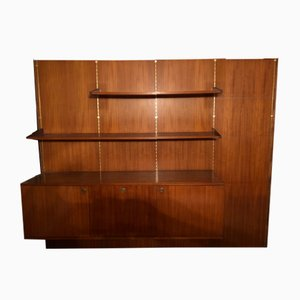 Rosewood Wall Unit by Louis Paolozzi, 1950s