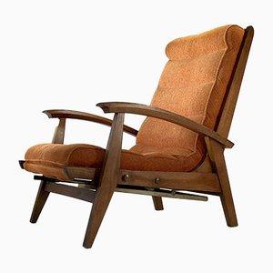 Französischer Sessel von Guy Besnard für Free-Span, 1950er