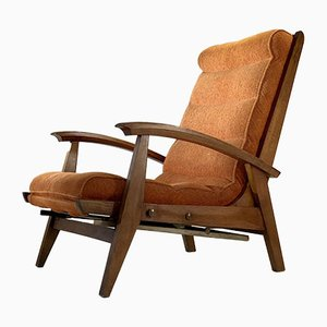 French Armchair by Guy Besnard for Free-Span, 1950s