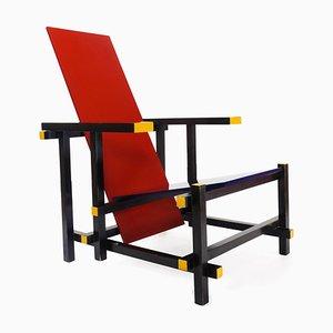Sessel von Gerrit Rietveld für Cassina, 1970er