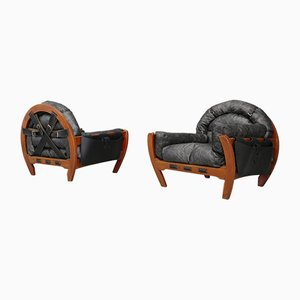Armchairs by Luciano Frigerio, 1972, Set of 2