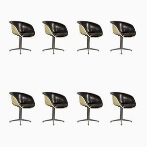 Mid-Century Beistellstühle von Charles & Ray Eames für Herman Miller, 8er Set