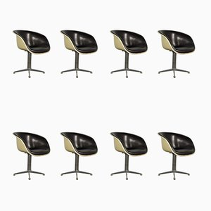 Mid-Century Side Chairs by Charles & Ray Eames for Herman Miller, Set of 8