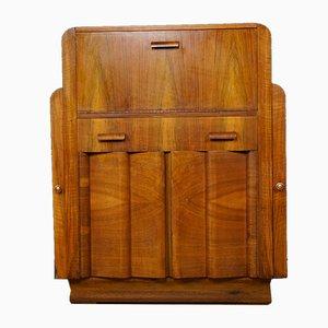 Walnut Bar Cabinet from F.H. Marshall, 1940s