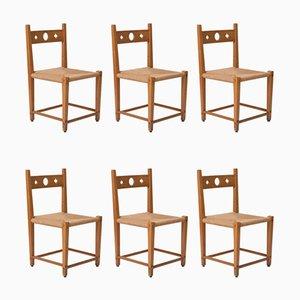 Vintage Beistellstühle von Axel Einar Hjorth, 6er Set