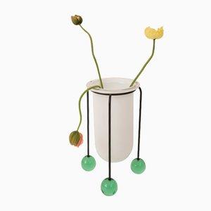 Vase par Ettore Sottsass pour Vistosi, 1987