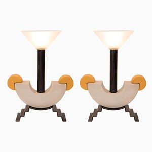 Vintage Table Lamps by Michele De Lucchi, Set of 2