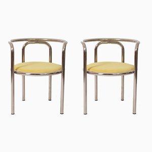Esszimmerstühle von Gae Aulenti, 1963, 2er Set