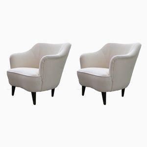 Italienische Vintage Sessel, 2er Set