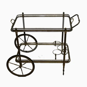Bar Cart Trolley by Maison Jansen, 1950s