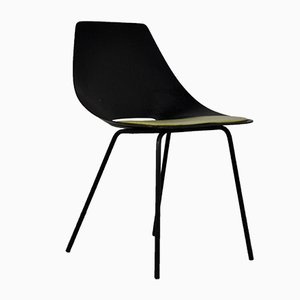 Mid-Century Tonneau Chair by Pierre Guariche for Steiner