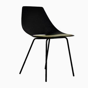 Mid-Century Tonneau Stuhl von Pierre Guariche für Steiner