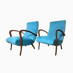 Sessel von Paolo Buffa, 1950er, 2er Set