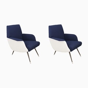 Lounge Chairs by Giuseppe Rossi for Albizzate, 1956, Set of 2