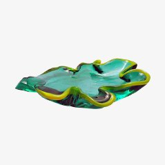 Murano Sculptural Bowl by Pino Signoretto, 1970s