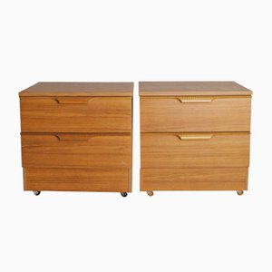 Nightstands from Europa Furniture, 1970s, Set of 2