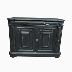 Buffet Antique en Sapin Noir