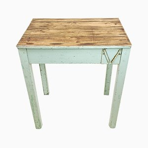 Antique Painted Pine Desk