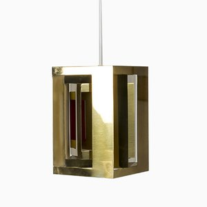 Model Kassablanka Pendant Lamp by Simon Henningsen for Lyfa, 1960s