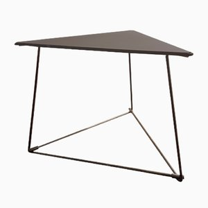 Oti Steel Triangular Side Table by Niels Gammelgaard for Ikea, 1980s