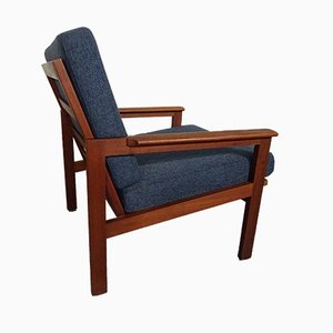 Teak Capella Armchair by Illum Wikkelsø for Niels Eilersen, 1960s