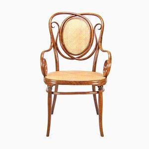 Antiker Modell 22 Armlehnstuhl von Thonet