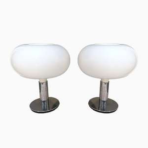 Model AM/1N Table Lamps by Franco Albini for Sirrah, 1970s, Set of 2