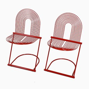 Swing Chairs by Jutta and Herbert Ohl for Rosenthal, 1980s, Set of 2