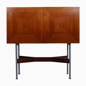 Rosewood High Board by Rudolf Glatzel for Fristho, 1960s